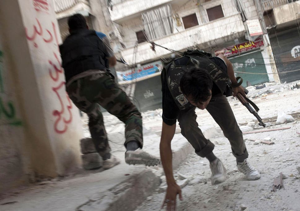 Robert Fisk: Aleppo's poor get caught in the crossfire of Syria's