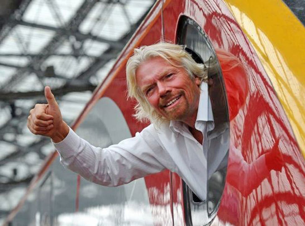 Sir Richard Branson's rail company Virgin Trains will carry on running services on the West Coast main line for a further 23 months, it was announced today