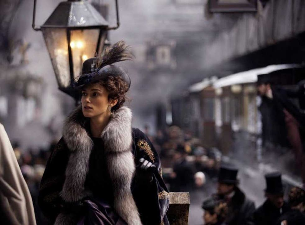 Dangerous liaisons: Keira Knightley in 'Anna Karenina'