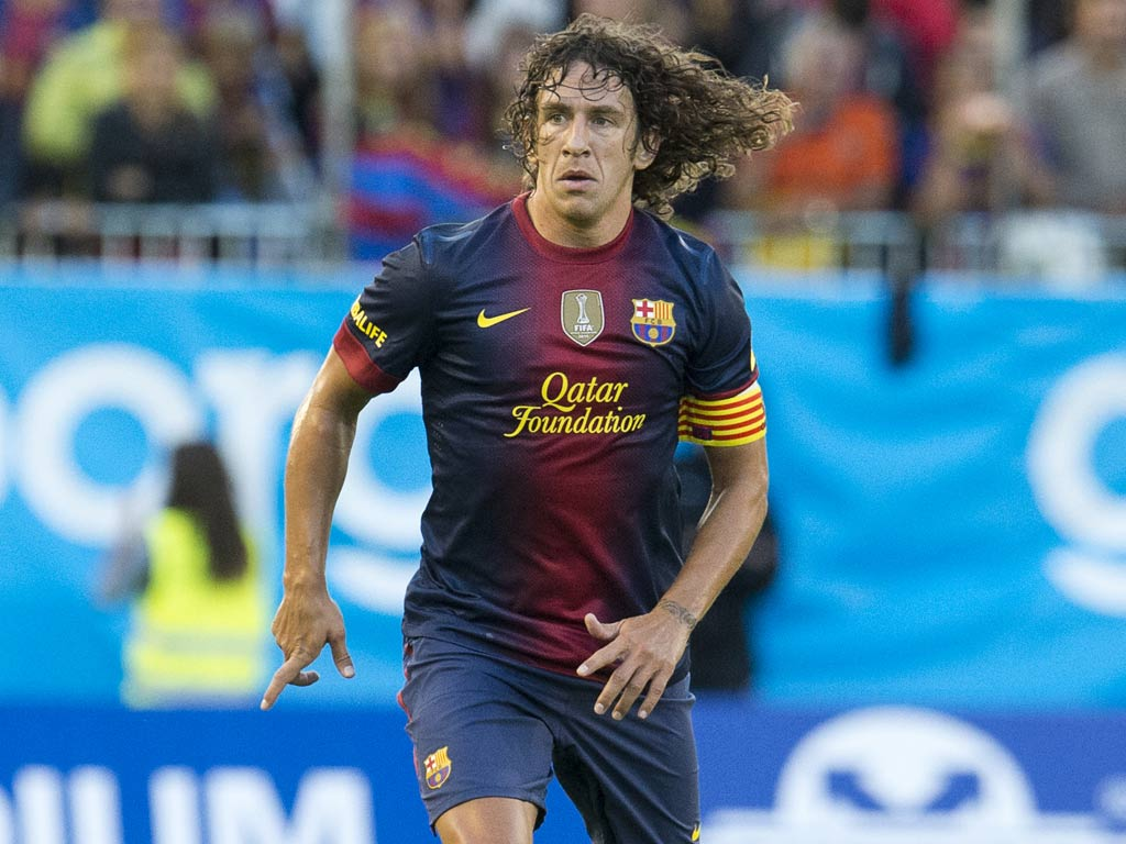 Barcelona defender Carles Puyol to face Real Madrid in a mask