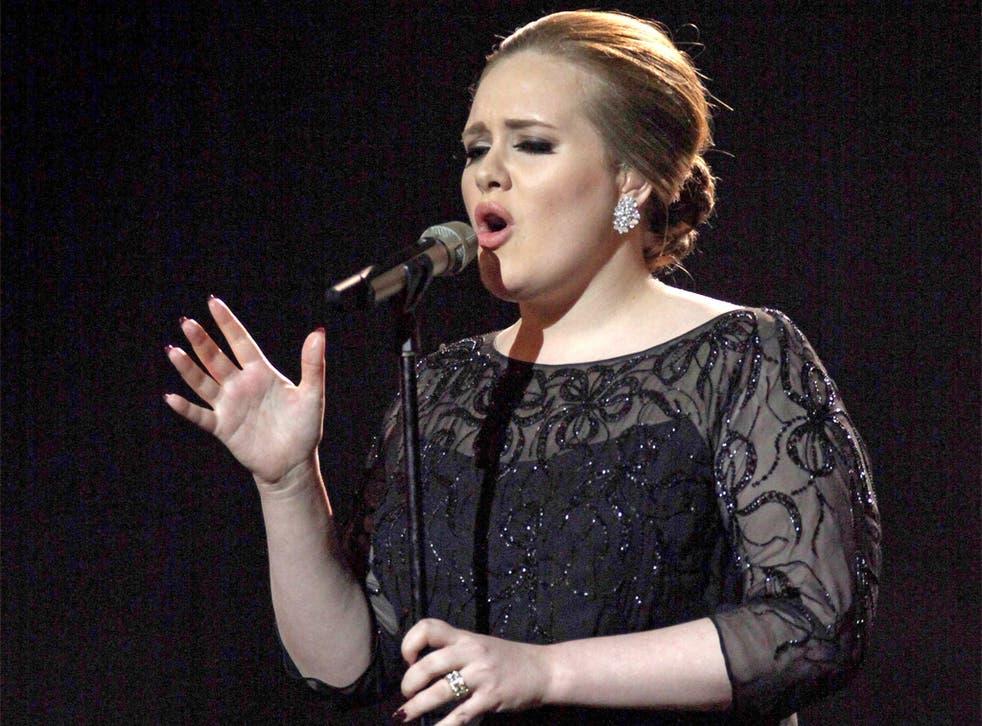 Adele's '21' went 13-times platinum in Australia
