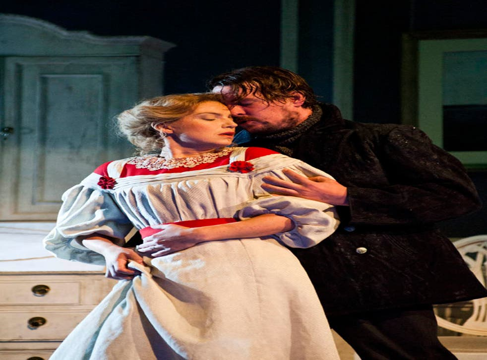 Claire Booth as Ellida and Benedict Nelson in The Stranger in Craig Armstrong's The Lady from the Sea