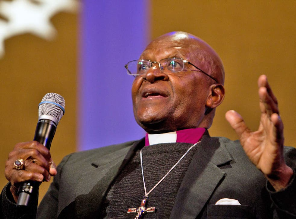 Desmond Tutu: Blair's support of Iraq invasion was 'morally indefensible'