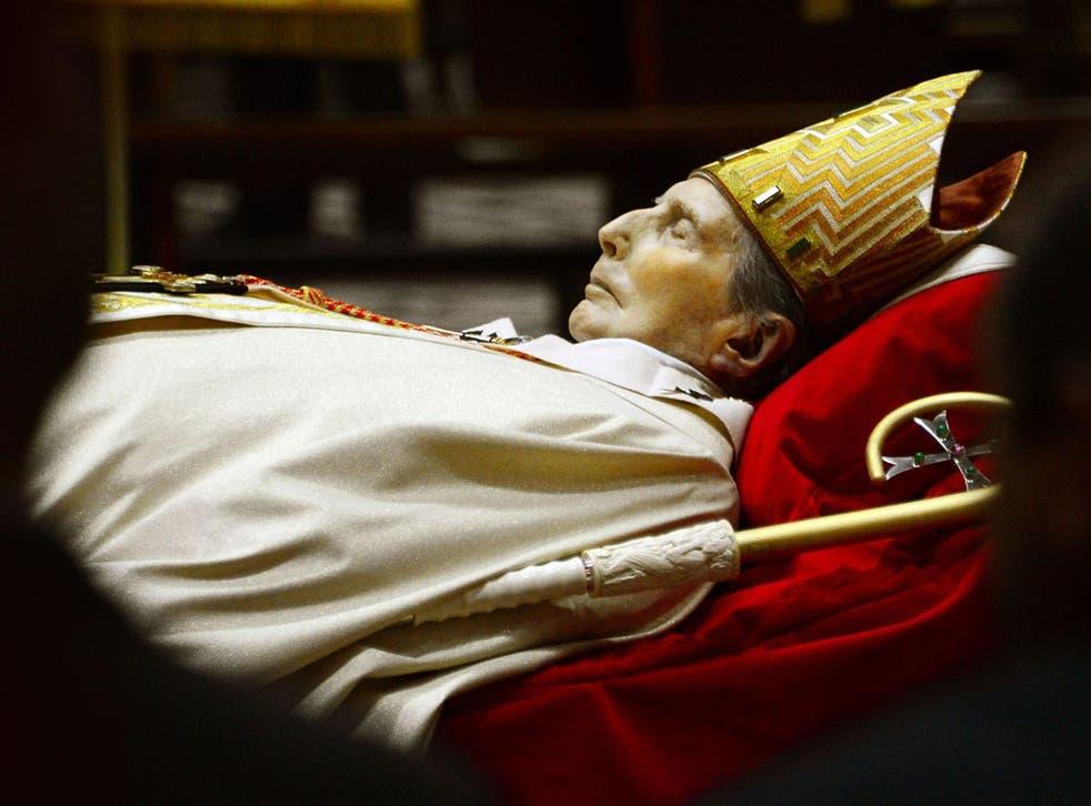 Milan's former Archbishop, Cardinal Carlo Maria Martini