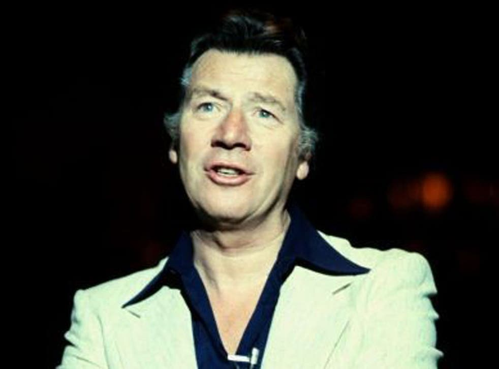 Bygraves in 1979: his Singalongamax series of albums sold over 6.5 million copies