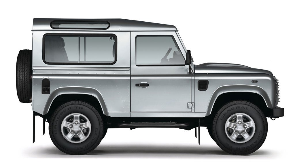 land rover defender 90 station wagon xs the independent. Black Bedroom Furniture Sets. Home Design Ideas