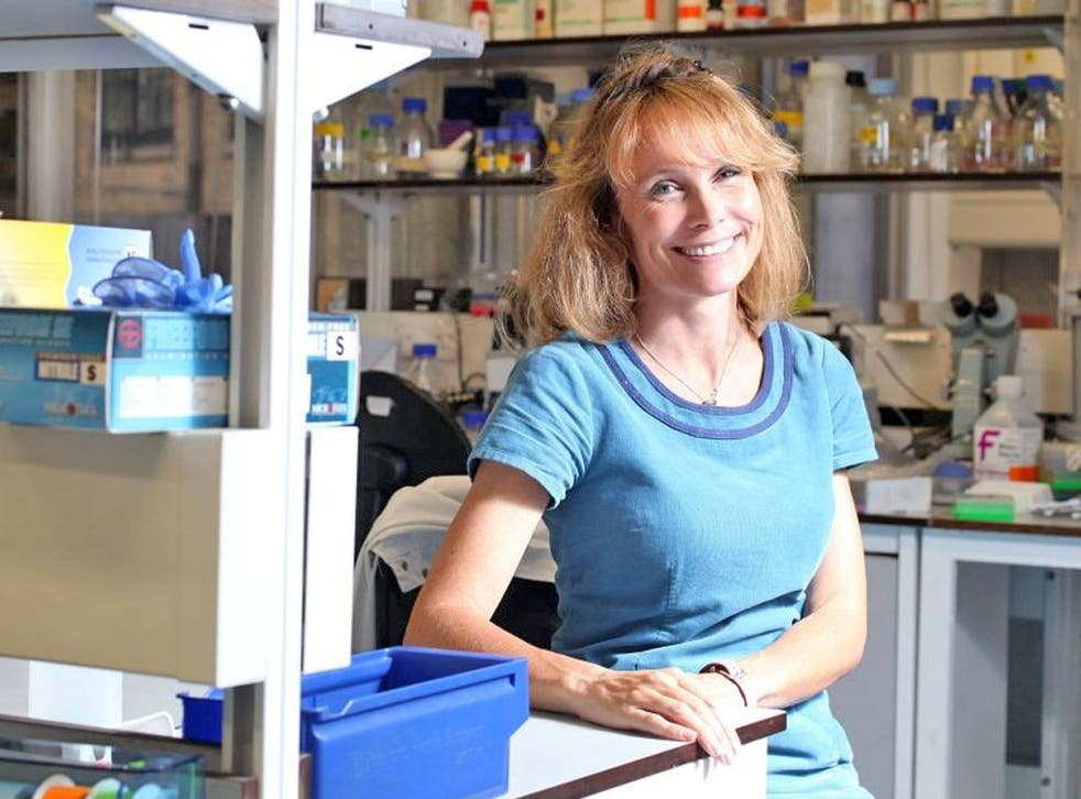 Professor Joanne Webster, who found a key link between toxoplasma and schizophrenia