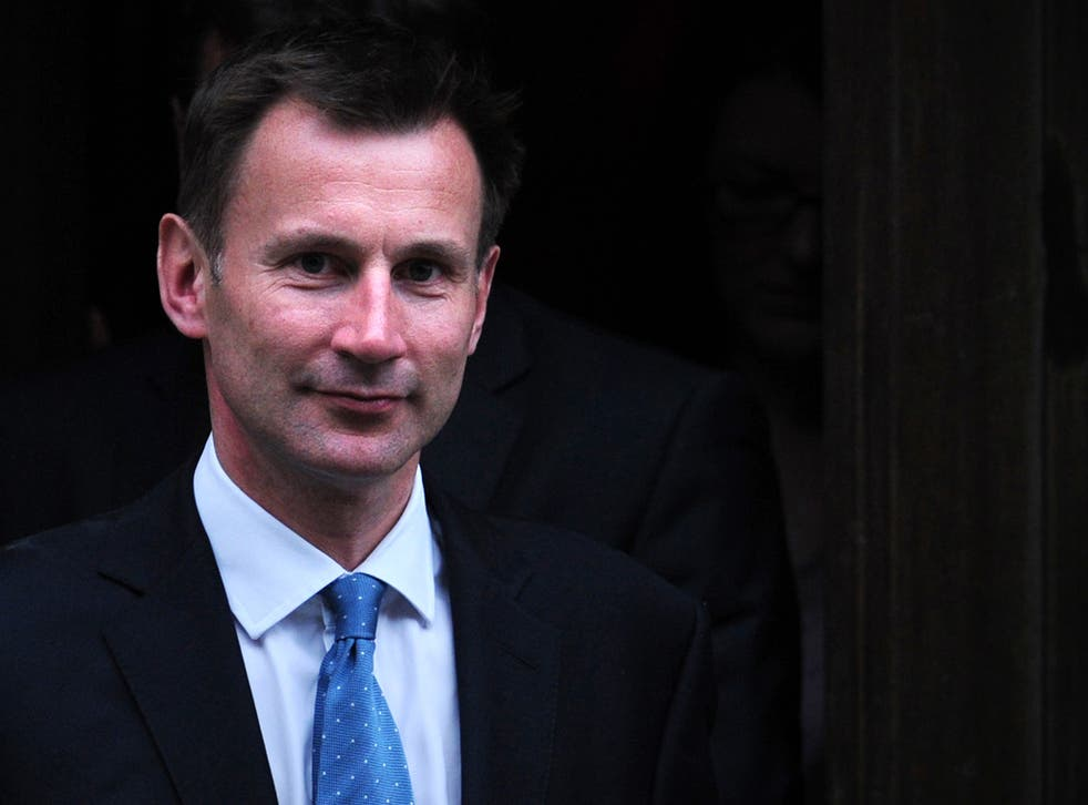 Jeremy Hunt believes the abortion limit should be cut to 12 weeks - half the present maximum