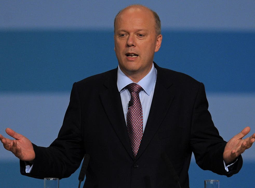 Chris Grayling, described as the dangerous and feared predator of Westminster, claimed in Opposition that parts of Britain were so blighted by crime they resembled the streets of Baltimore in cult TV show 'The Wire'