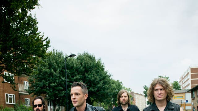 Not in Vegas any more: The Killers (from left), drummer Ronnie Vannucci Jr, singer Brandon Flowers, bassist Mark Stoermer and guitarist Dave Keuning