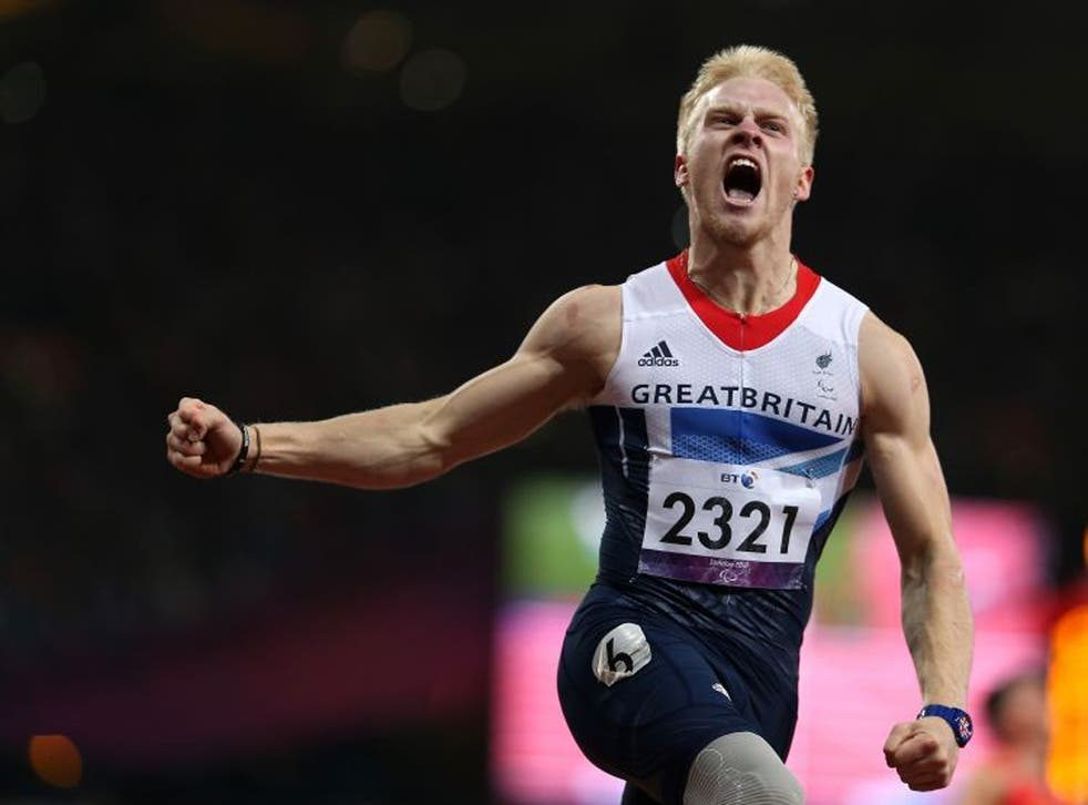 Peacock triumphed over his fellow bladerunners in the T44 100m with a record time of 10.90 seconds on Thursday night
