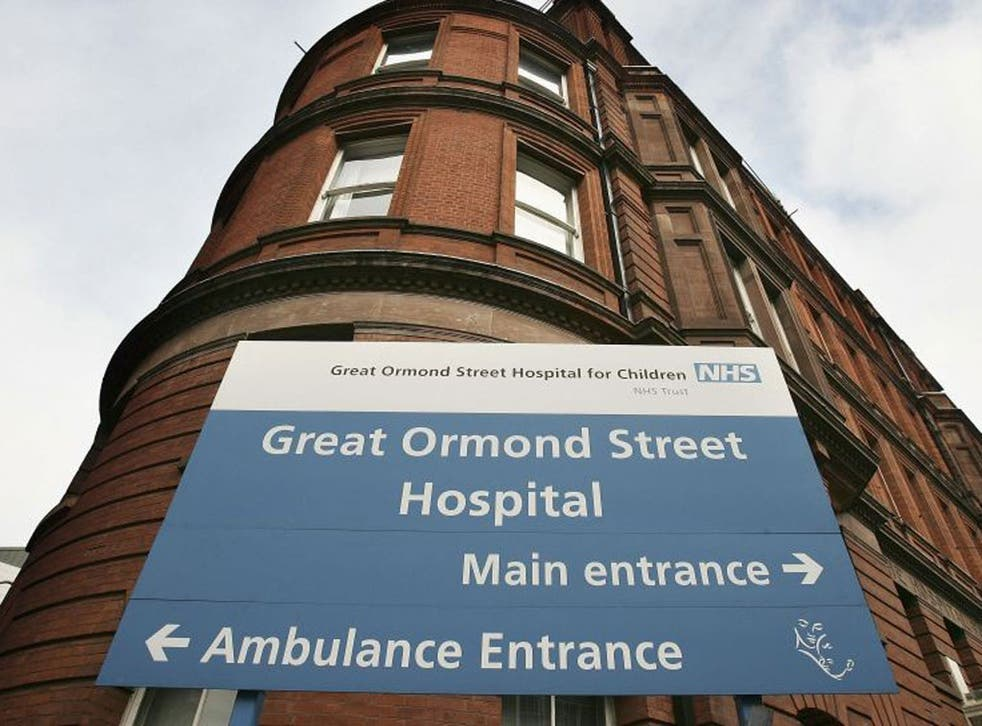 Police were called to Great Ormond Street Hospital in London yesterday after a report that up to 20 wrapped presents were taken
