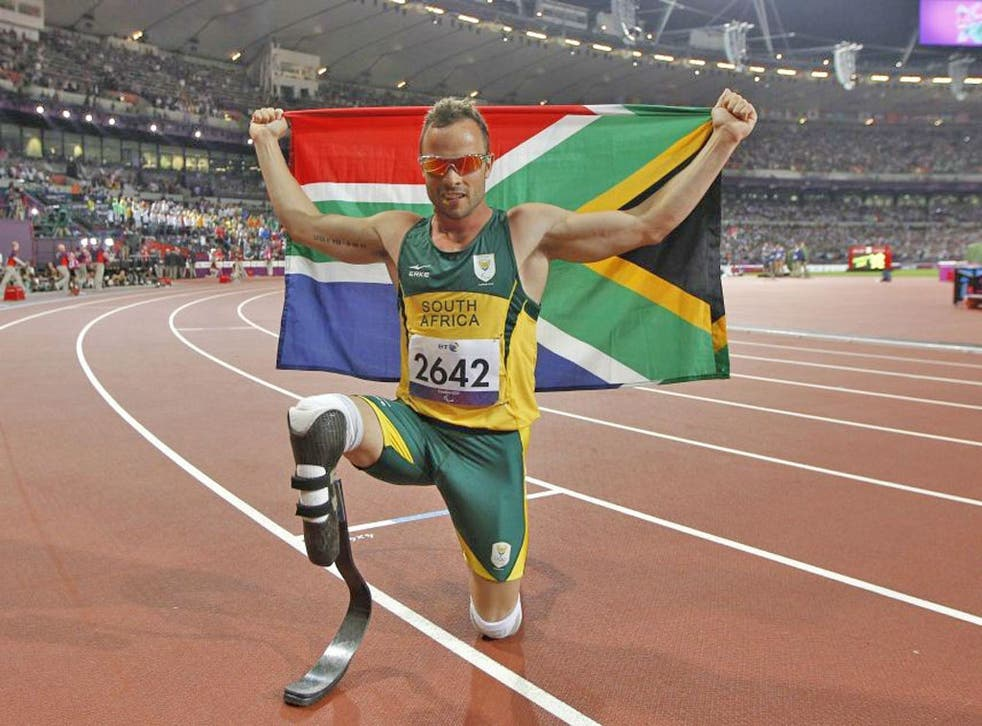 Oscar Pistorius won his second gold of the Games in the T44 400m final