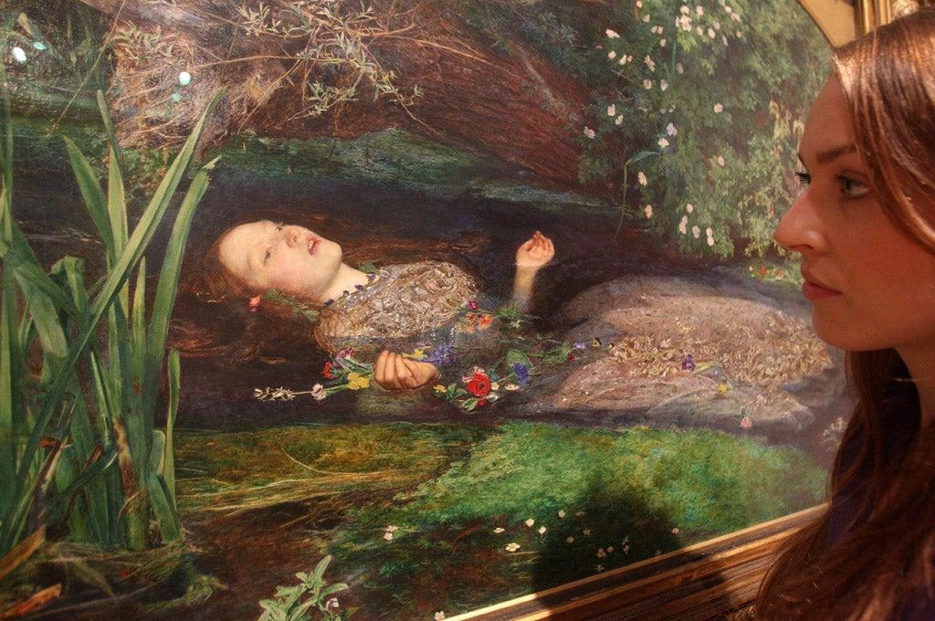 Phallic Symbols Found Hidden In Famous Pre Raphaelite Painting