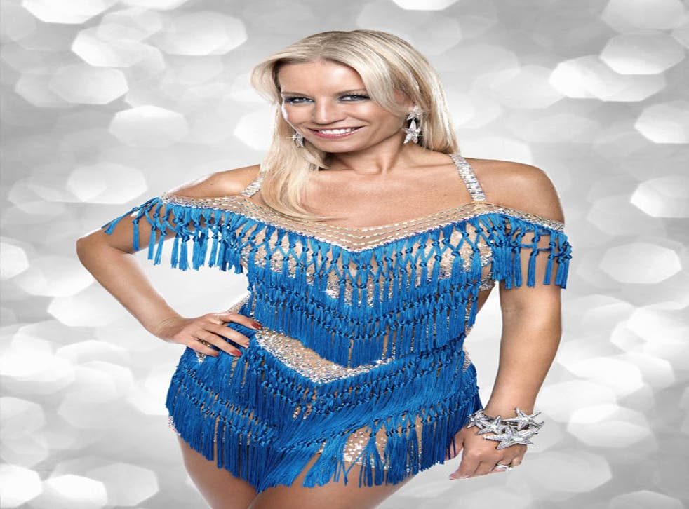 Denise Van Outen was one of last year's celebrity contestants in BBC1's Strictly Come Dancing.