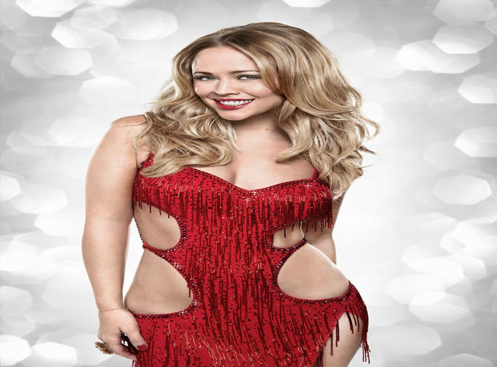 Kimberley Walsh, one of this year's celebrity contestants in BBC1's Strictly Come Dancing said she had to sign up to this year's Strictly Come Dancing after Cheryl Cole gave her 'no choice'.