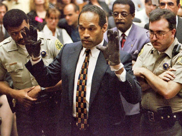 <p>OJ Simpson was found not guilty of murder, but was pursued through civil courts by her family at enormous cost</p>