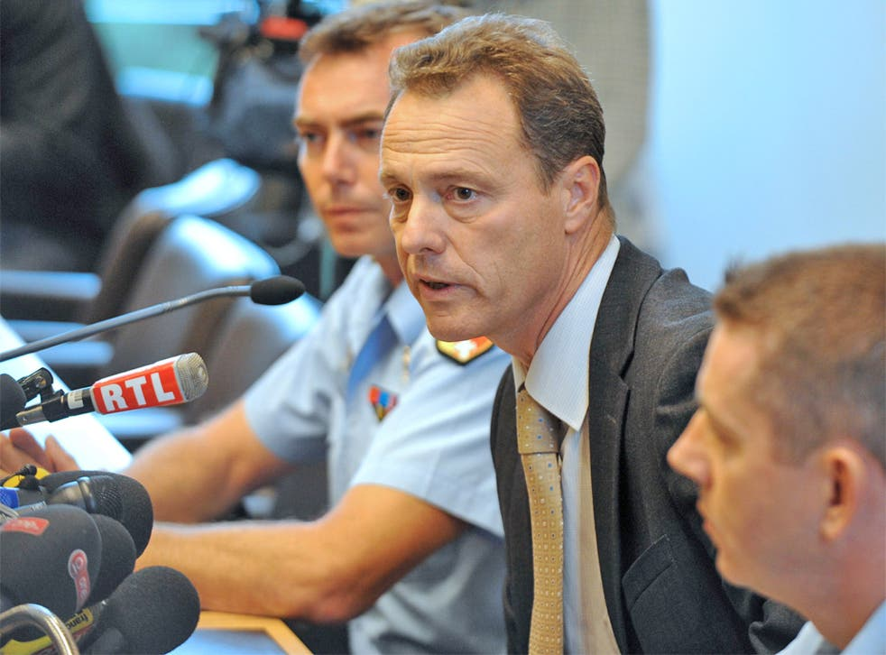 Annecy area public prosecutor Eric Maillaud yesterday