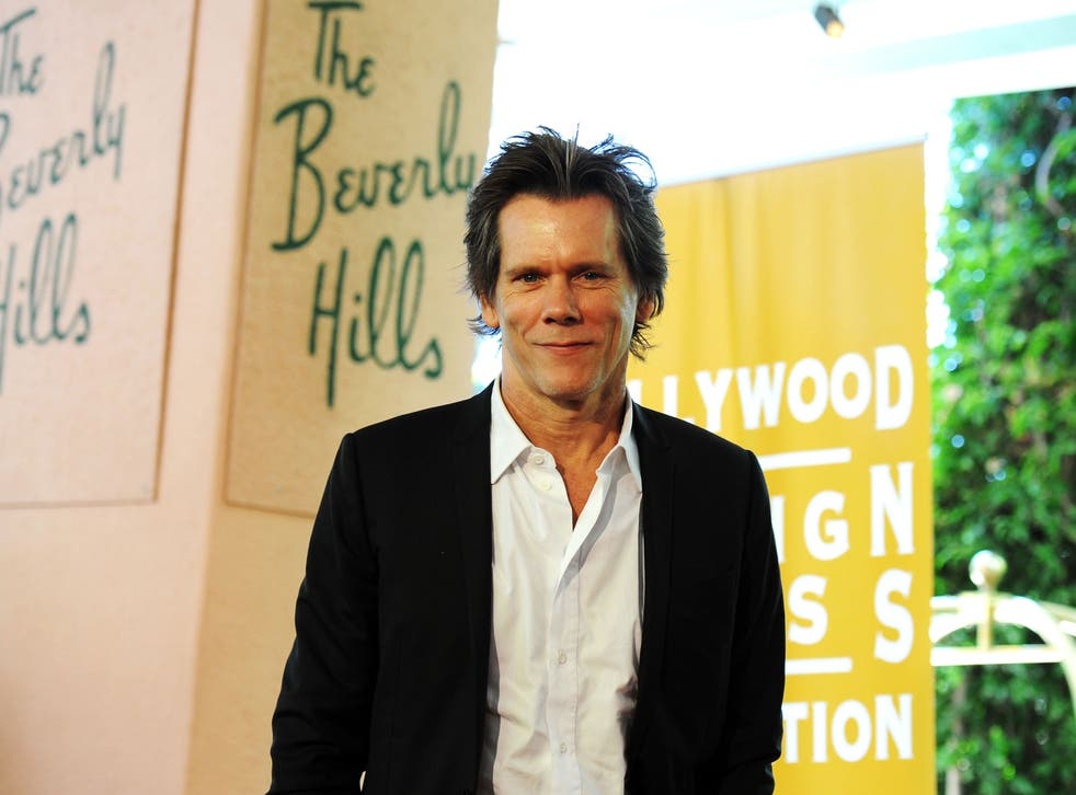 BEVERLY HILLS, CA - AUGUST 04: Actor Kevin Bacon arrives at The Hollywood Foreign Press Association's 2011 Installation Luncheon at Beverly Hills Hotel on August 4, 2011 in Beverly Hills, California.