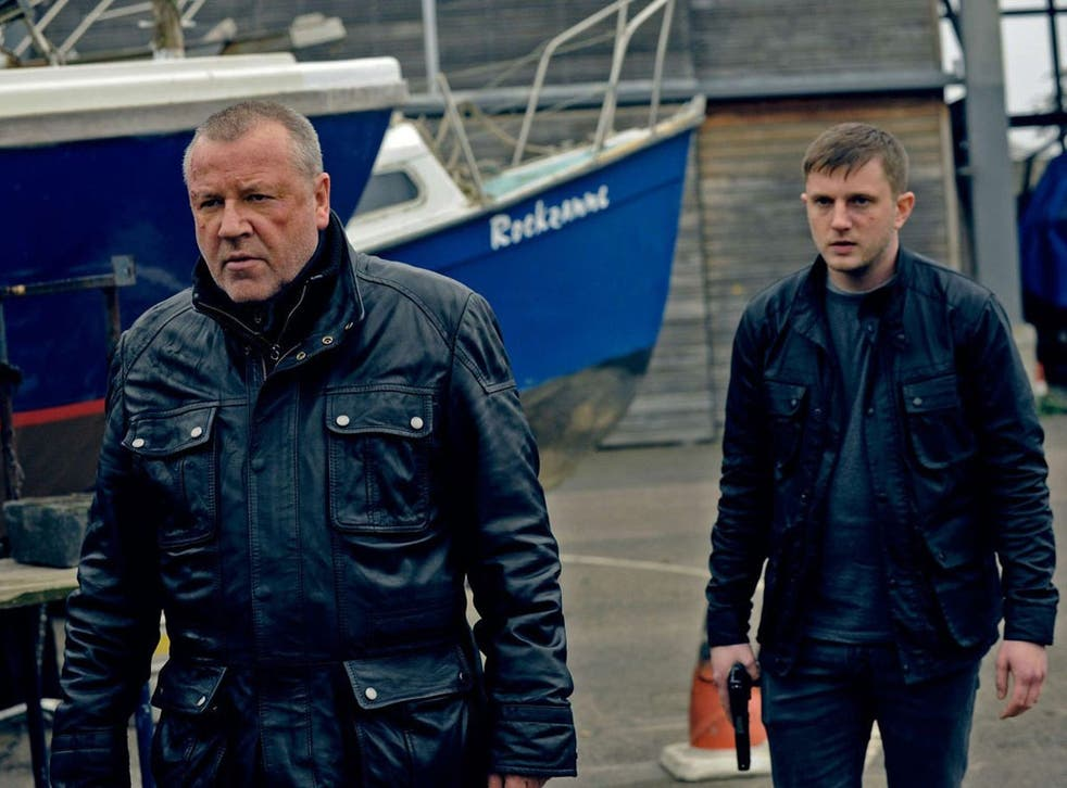 Ray Winstone (left) and Ben Drew in 'The Sweeney'