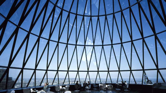 Big draw: Buildings such as the Gherkin always attract huge interest