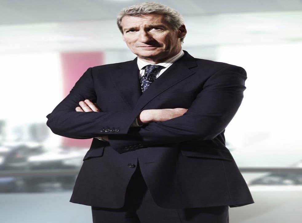 Jeremy Paxman, the host of University Challenge