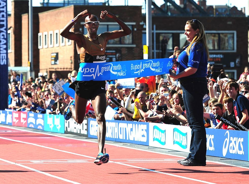 Rest assured: Mo Farah is taking a fortnight off after a hectic season