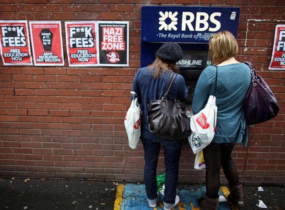 Banks are keen to lure students in the hope they will stick with them after graduation