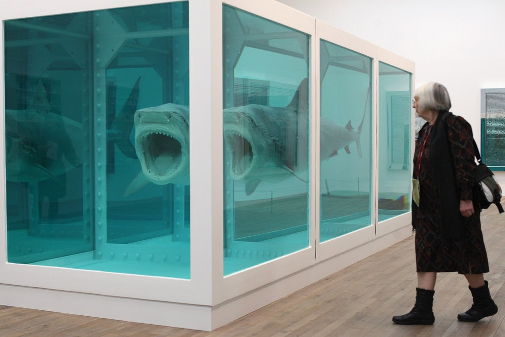 Indy Gas Prices >> Prices plummeting, lustre fading – has Damien Hirst jumped the pickled shark? | The Independent