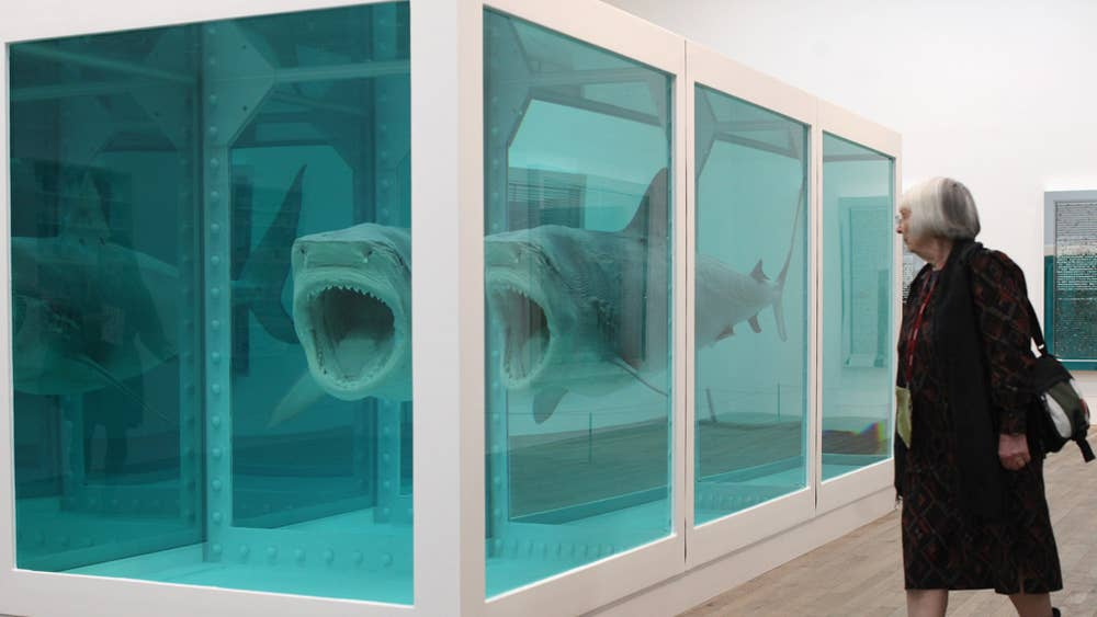 Prices Plummeting Lustre Fading Has Damien Hirst Jumped The Pickled Shark The Independent
