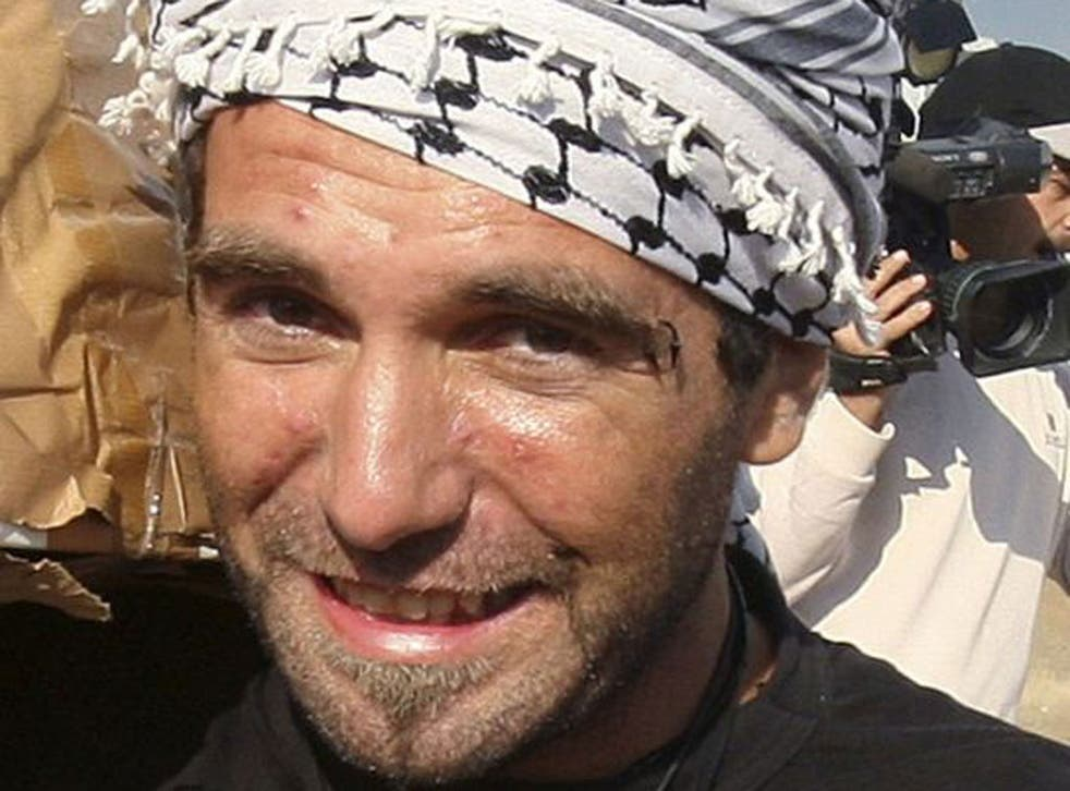 Vittori Arrigoni was killed last year by a radical Islamist group