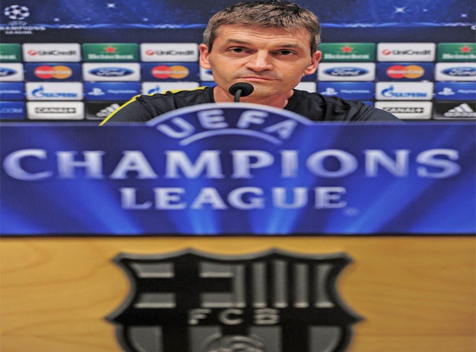 The new Barcelona coach Tito Vilanova has made a good start
