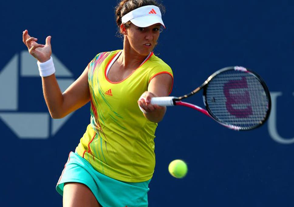 Laura Robson Rolls On As Victory Over Sorana Cirstea Secures First