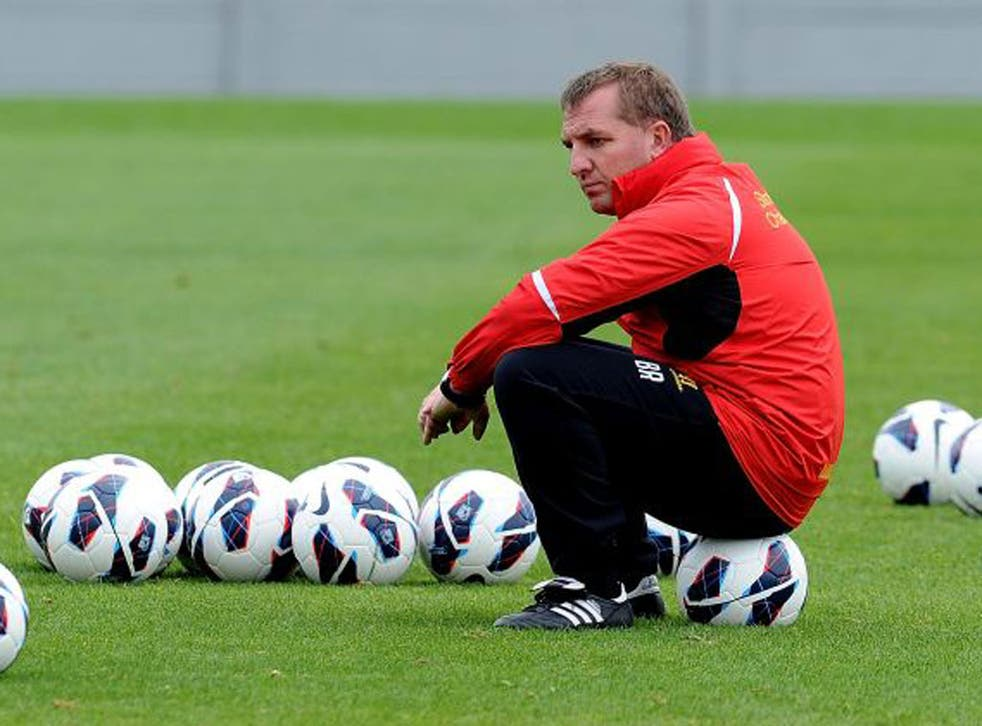 Brendan Rodgers insists he will certainly not be in awe of Sir Alex Ferguson when United visit Anfield tomorrow