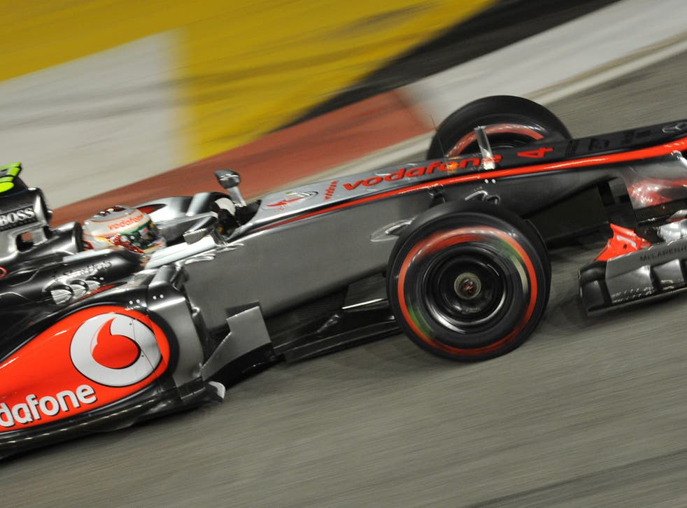 Hamilton gave McLaren a fourth consecutive pole for the first time since 1999