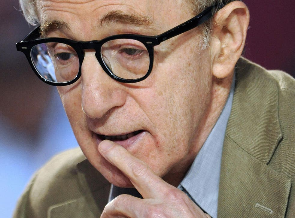 Director and comedian Woody Allen, famous for joking about the Jewish community.