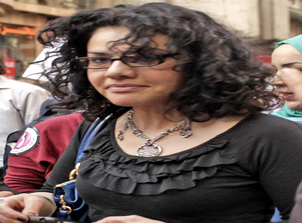Mona Eltahawy waas charged with the offence of criminal mischief