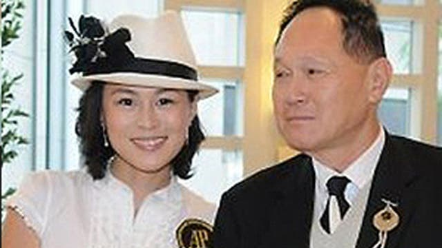 Gigi Chao pictured with her father, Cecil