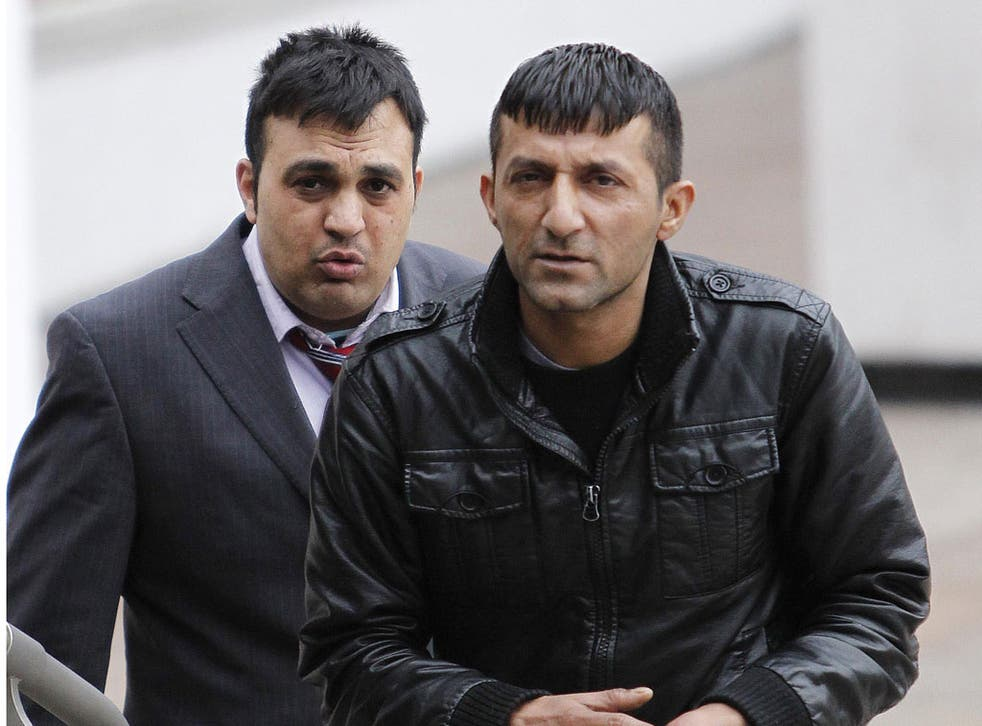 Mohamed Sajid (left) and Qamar Shazad (right) were convicted in May of being part of a child sex ring in Rochdale, which they ran from the Balti Curry house