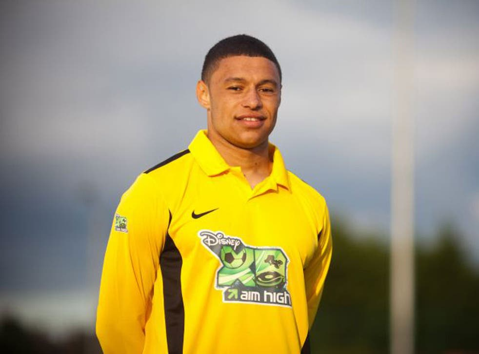 Alex Oxlade-Chamberlain was nearly released by Southampton