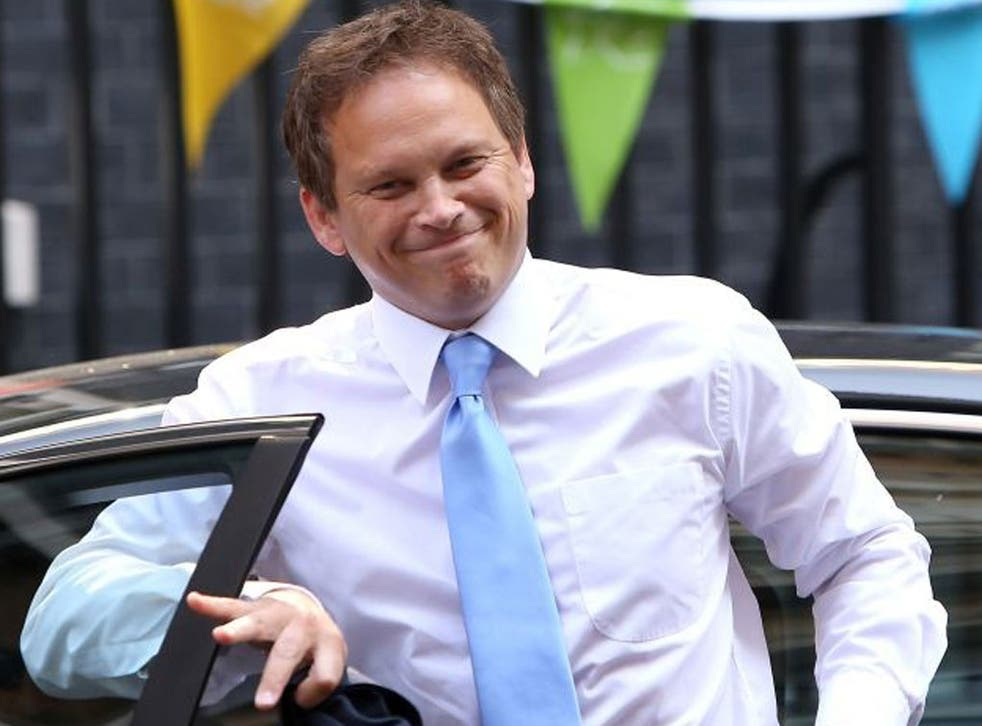 Double life: Grant Shapps has an alter persona, Michael Green