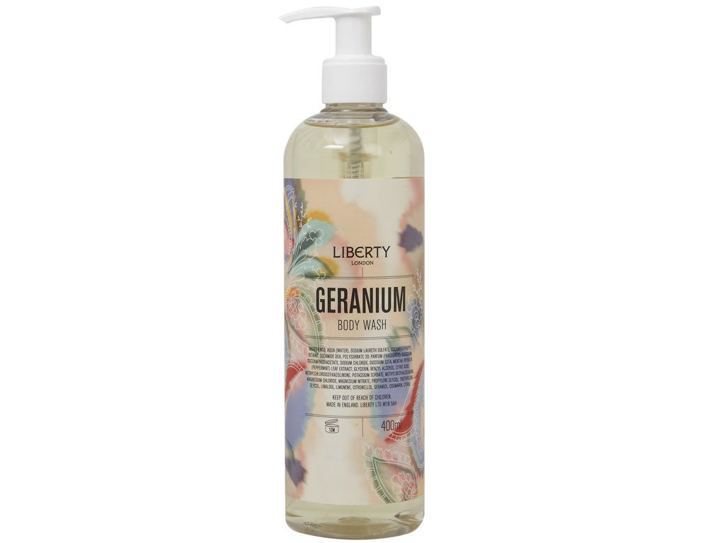 The 50 Best Autumn Beauty Buys Independent Whitelust Saffron Mens Sandal Full Black 39 1 Liberty Geranium Bodywas