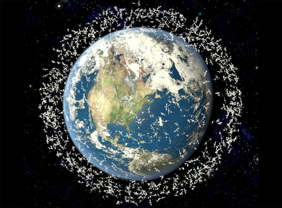 Since the space race began more than 6,500 satellites have been sent up