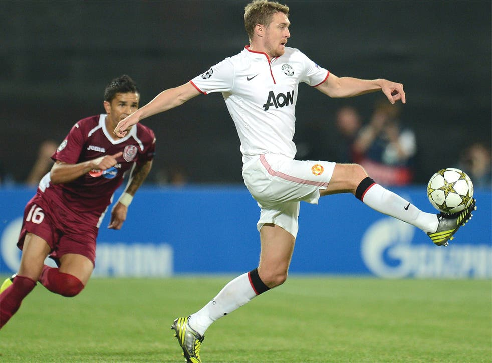 Darren Fletcher brought physicality into the midfield