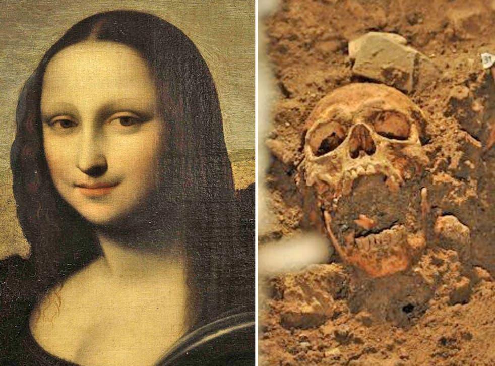 Archaeologists claim bones found in basement of Florentine convent belong to Leonardo's Mona Lisa