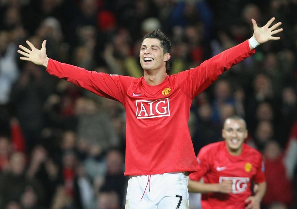 size 40 bc429 2b257 Cristiano Ronaldo's greatest Manchester United moments | The ...