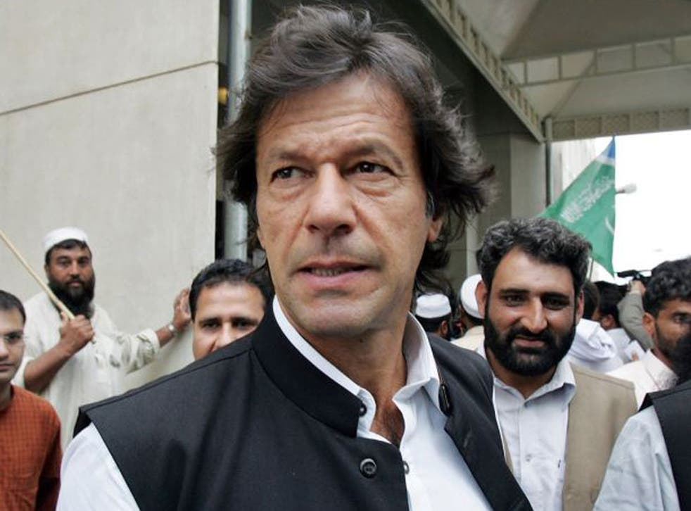 """The Pakistani Taliban warned yesterday that it opposes a planned """"peace march"""" into dangerous tribal areas led by Imran Khan"""