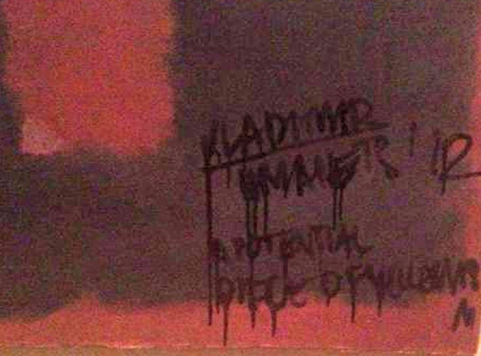 The man who scribbled on a Mark Rothko painting this week wasn't your ordinary vandal