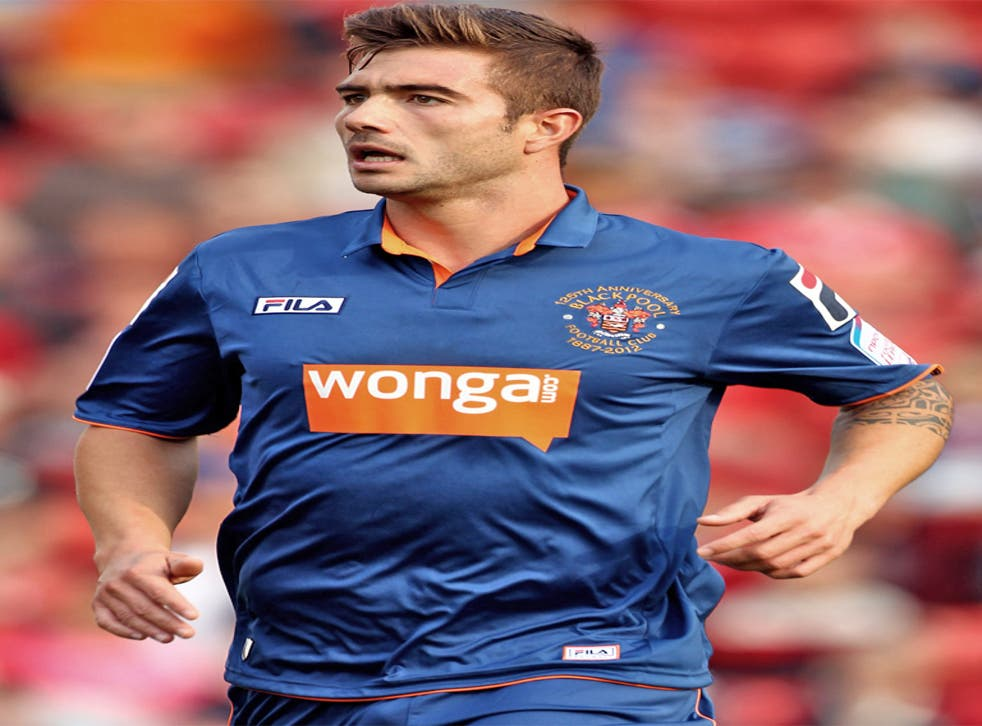 Wonga have a shirt sponsorship deal with Blackpool