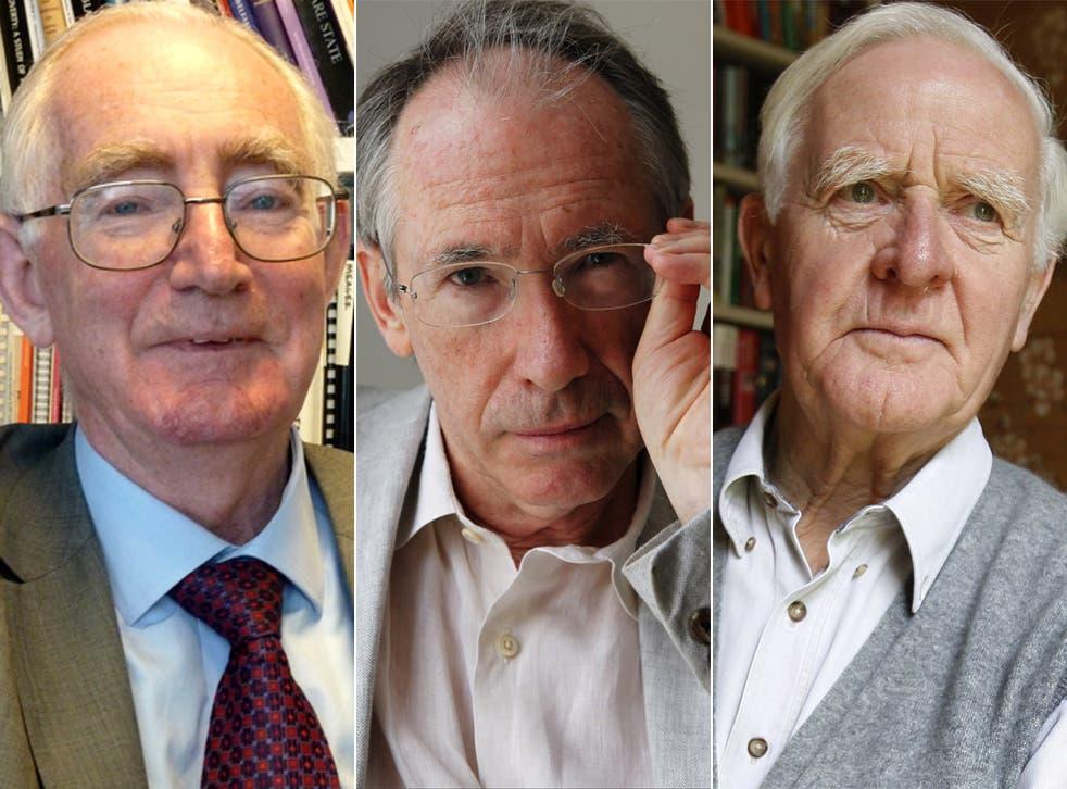 Anthony Atkinson, Ian McEwan and John le Carré